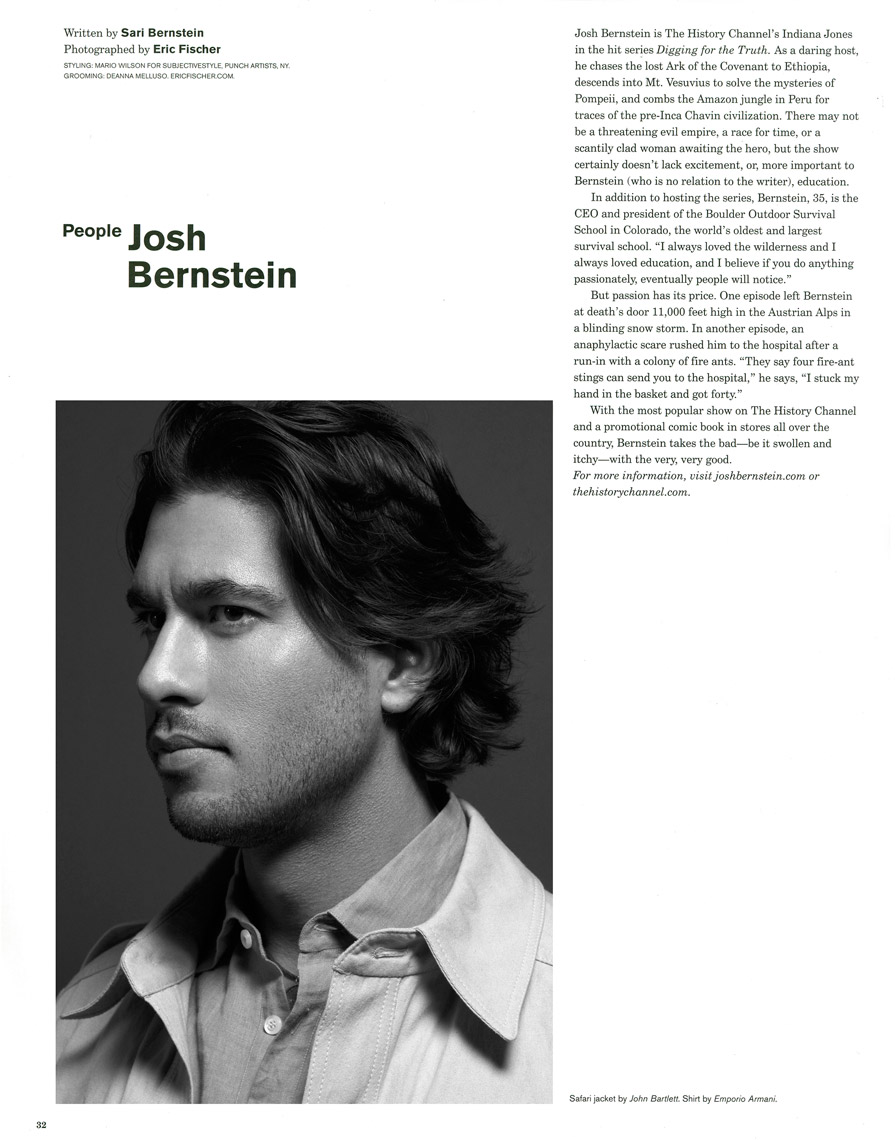 Josh Bernstein for Flaunt  Magazine