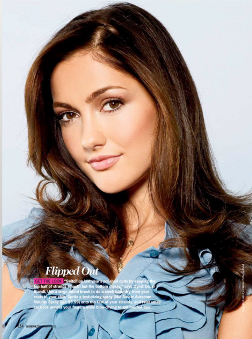 Minka Kelley for Cosmopolitan