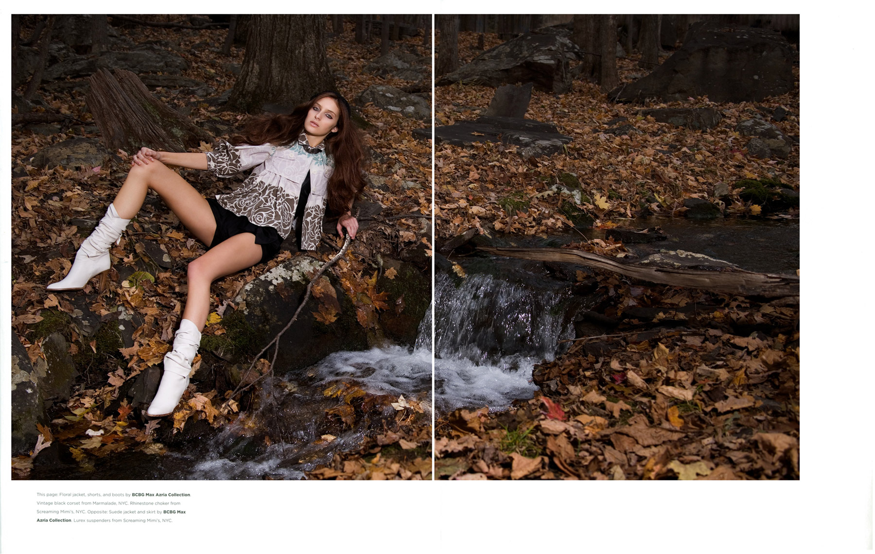 BCBG Max Azria for Flaunt Magazine